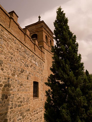 ST700108.jpg (Keith Levit) Tags: trees windows building tree tower window stone wall buildings photography spain europe exterior stones fineart towers spanish evergreen toledo evergreens walls exteriors levit faade keithlevit keithlevitphotography