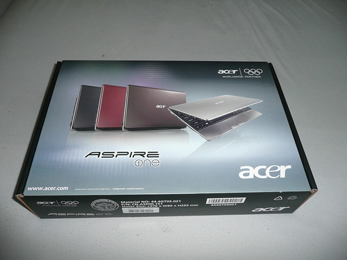 Acer Aspire One 721 Unboxing