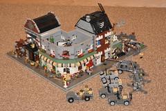 Progress. (The Ranger of Awesomeness) Tags: lego wwii operation 2010 opb brickcon brickarms operationbricklord legolegolego bricklord operationbricklordeuropeatwar europeatwar
