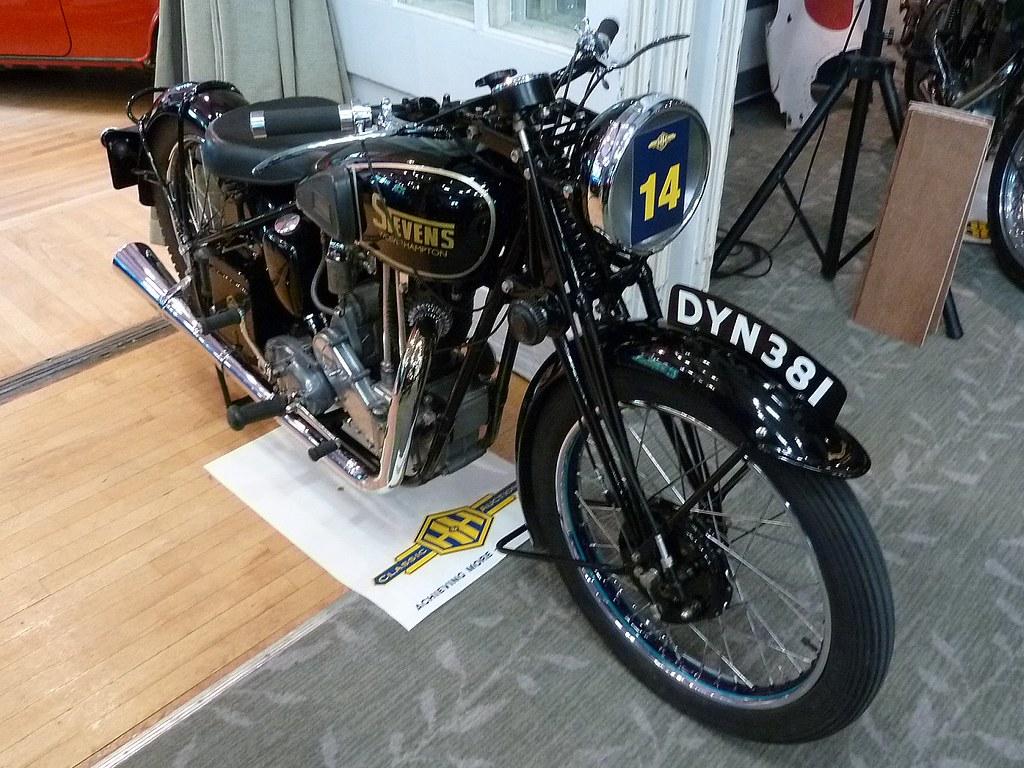 DYN 381 - 1937 Stevens 500cc