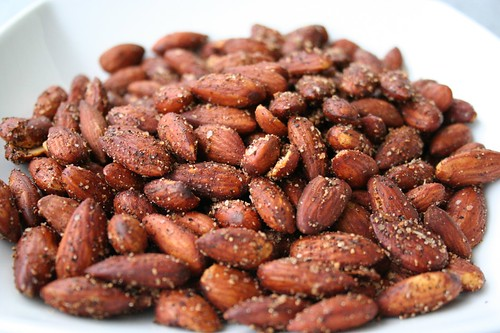 Toasted Spicy Almonds