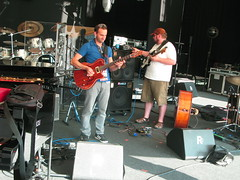 Nikki Yanoksky's band sound check - pic 01