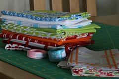 Lots of yummy fabric