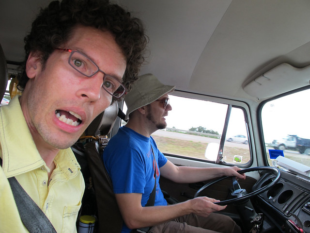 Driving In Gray's VW Van