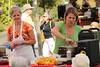 Chef Holly Smith making Squash Blossom Risotto at Bellevue Farmers Market | Bellevue.com