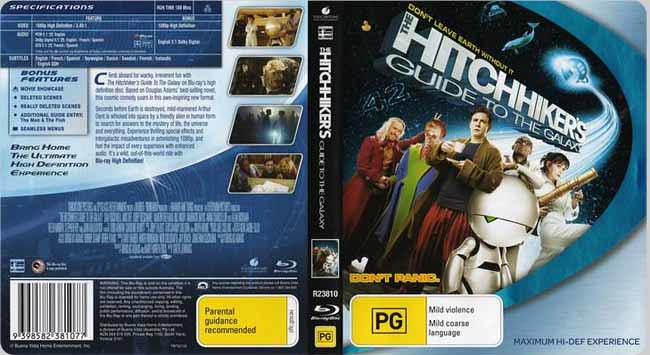 hitchhikers guide to the galaxy imdb parents guide