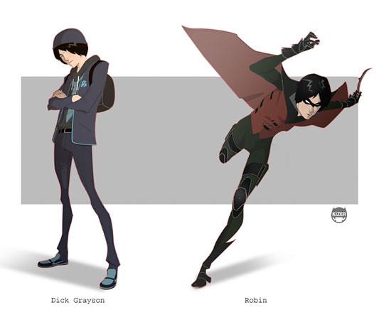 Kizer,  Robin - Dick Grayson
