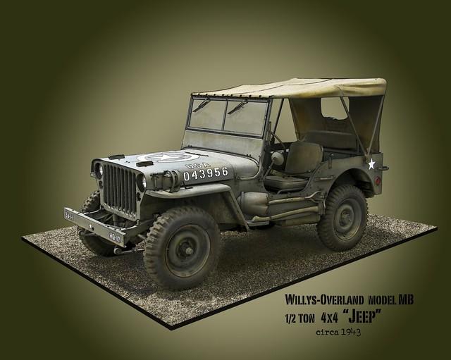 ford army us jeep 4x4 military wwii utility american ww2 vehicle willys 12ton novaman396