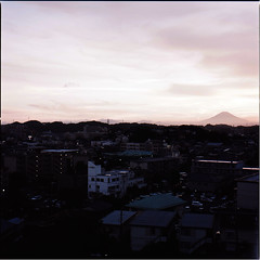 (masaaki miyara) Tags: light sky cloud color colour film japan kodak hasselblad  fujisan  portra    mtfuji