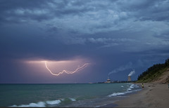 Lake Michigan Storm