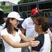 Maria Corina Machado y Gabriel Puerta Recorrieron el Sector La Rosa de Guatire