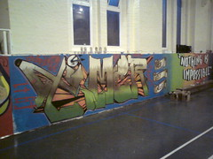 Nothing is impossible (TIMER PBP) Tags: art youth club graffiti code timer pbp jawz townmead