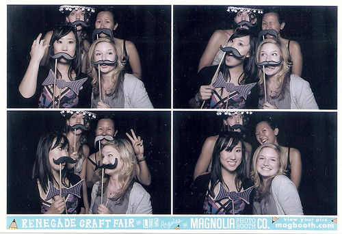 Photobooth fun at Renegade Craft Fair!