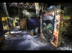 Nightmarish mural | HDR