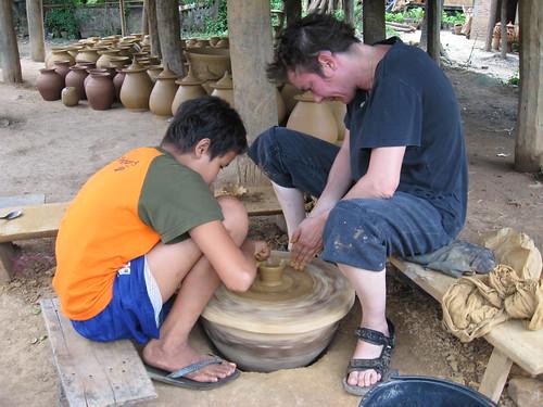 ban chang pottery village