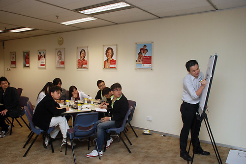 Caricature Workshop for AIA Robinson - Day 5 - 10