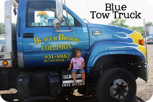 Blue Tow Truck BLOG