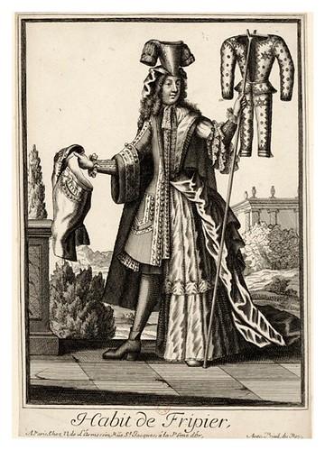064-Vestimenta de trapero-Les Costumes Grotesques 1695-N. Larmessin-BNF