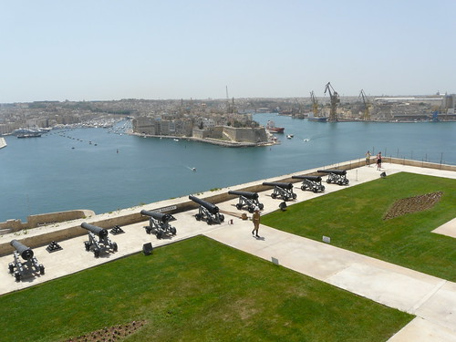 El port des del Saluting Battery