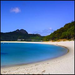 Playa de Rodas (Pilar Azaa Taln ) Tags: sea espaa seascape beach mar spain playa paisaje galicia pontevedra vigo islasces playaderodas pilarazaataln pilarazaa copyrightpilarazaataln