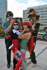 DSC_0237 (Anthony Chodor) Tags: cosplay scarecrow joker otakon poisonivy harleyquinn 2010