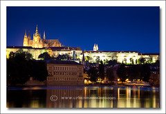 Prague [Czech Republic] - Prague Castle (UrbanMescalero) Tags: old travel castle history night town europe prague gothic praha praskhrad czechrepublic oldtown vltava praguecastle centraleurope moldau starmsto eskrepublika canoneos5dmarkii ef24105lf4isusml