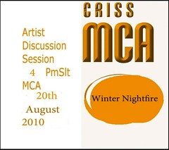 Criss MCA : Artist Discusson Winter Nightfire