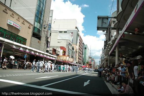 Kyoto 京都 - Gion Matsuri 祇園祭 Kawaramachi St.