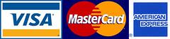 Visa / Master / American Express Card