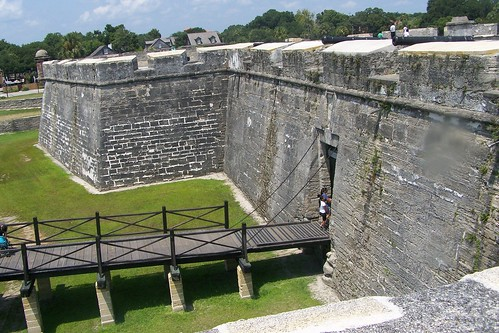 Entrance to the Castillo de San Marcos