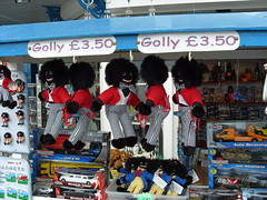 A Stall On the Pier - Llandudno - July 2010 . (Lenton Sands) Tags: toys pier stall gollywogs