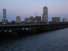 IMG_5162 (kz1000ps) Tags: city cambridge sunset urban tower boston skyline architecture skyscraper golden massachusetts charlesriver potd hour johnhancock prudential backbay memorialdrive