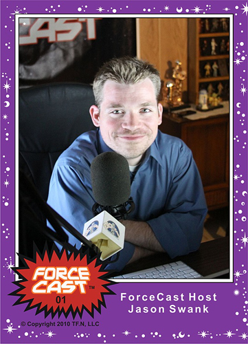 ForceCast/CV Exclusive Trading Card #1