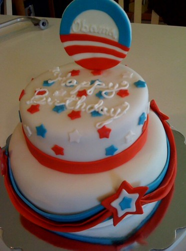 Denies and Obama birthday cake best