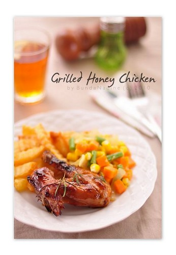 Grilled - honey chicken