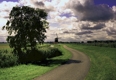 old dutch masters serie (Geert Reitzema) Tags: holland windmill dutch clouds hdr