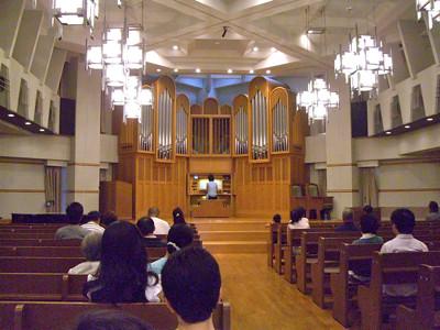 SDA大阪センター教会 パイプオルガン・コンサート