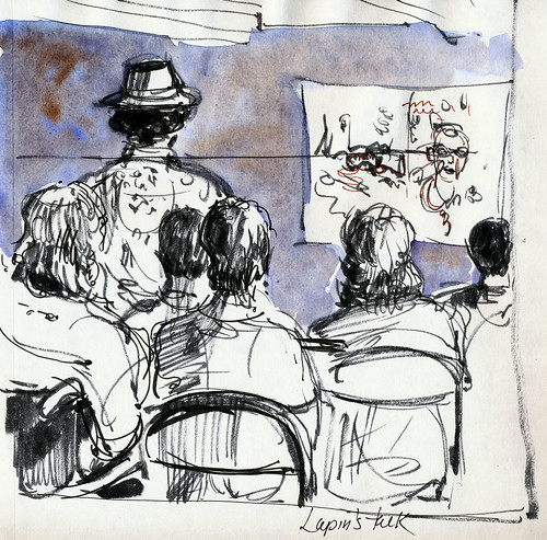 Urban Sketchers PDX 2010: sketch talk