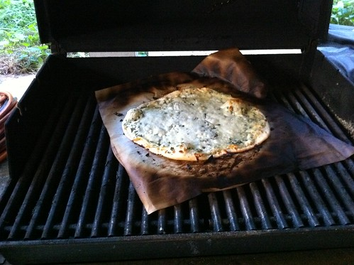 """grilled"" pizza"