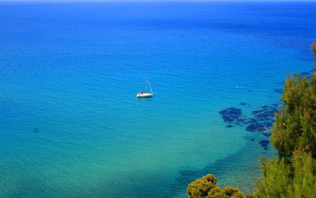Mare bellissimo Acciaroli Costiera Cilentana