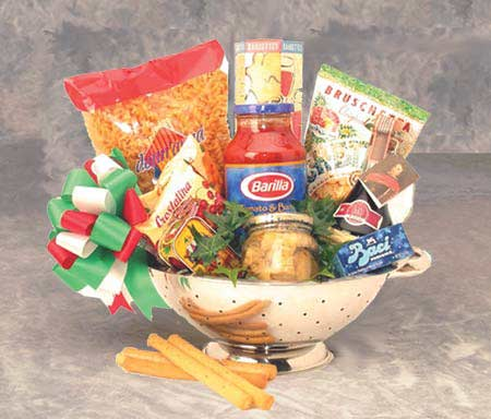 Gourmet Taste of Italy Basket