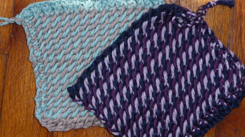 New knitting project: Potholders