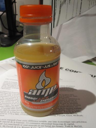 Amp tastes like medecine