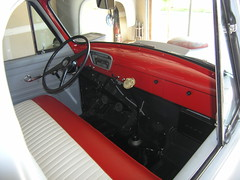 1953 Ford F-100.Interior.03 (pedrovonpetrol) Tags: interior seat roll