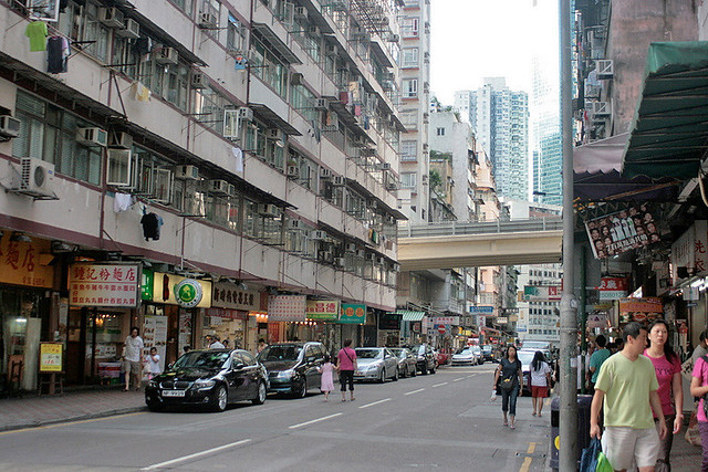Tin Hau is less commercial than Causeway Bay