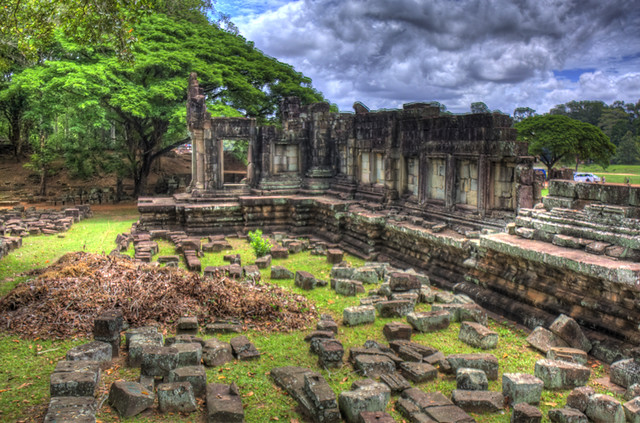 Angkor Wat Building Shell HDR