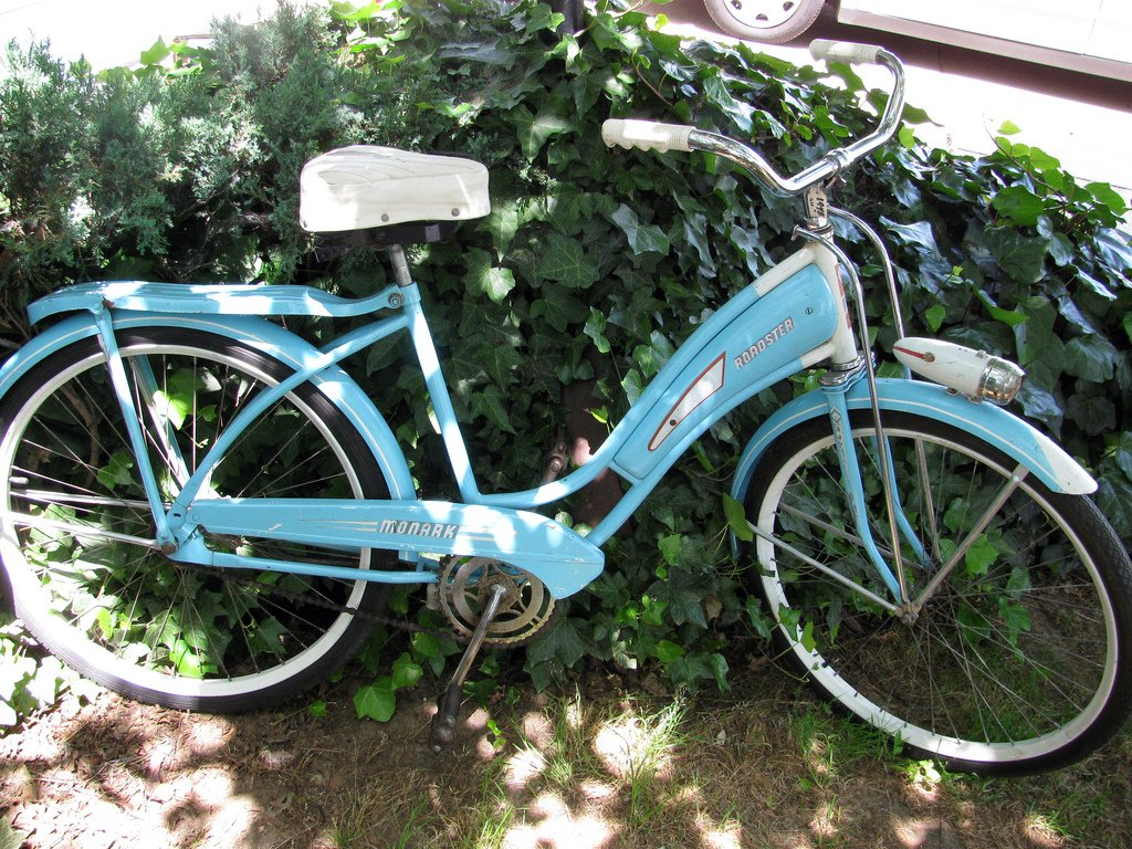 Early tank bike