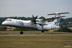 G-ECOM - 4233 - Flybe - De Havilland Canada DHC-8-402Q Dash 8 - Luton - 100729 - Steven Gray - IMG_9747w