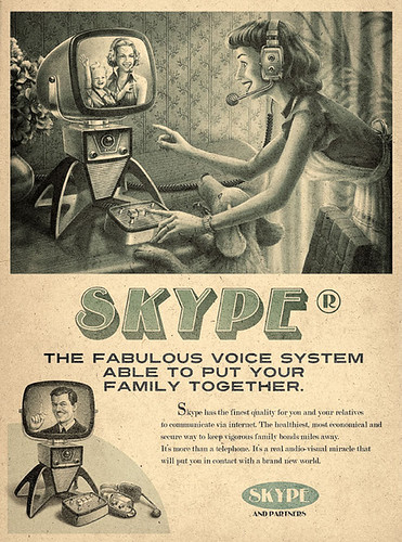 Skype en 1950