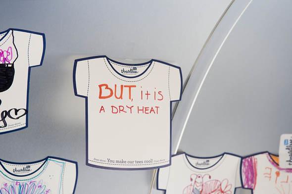Dry heat shirt